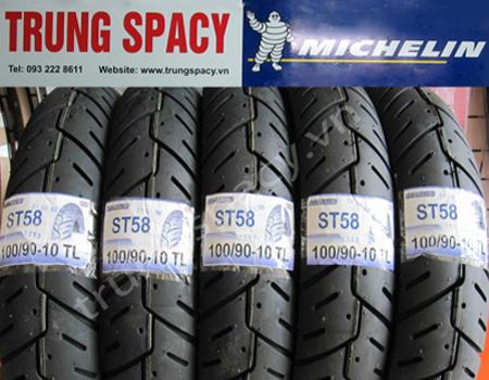 Lốp sau xe Spacy hãng Michelin